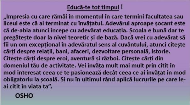 Educă-te!